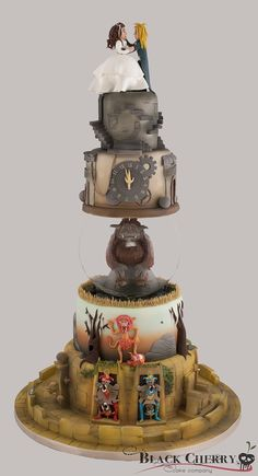 Labyrinth Cake - I love this movie, but this is a bit much.