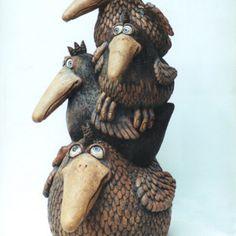 Ptáci Lion Sculpture, Statue, Gallery, Art, Ceramic Birds, Art Background, Roof Rack, Kunst, Performing Arts