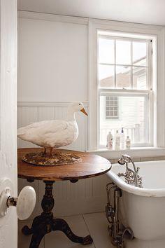 The Home of John Derian - KikiModo Home Furnishings & Decor Goose House, Interior Design Masters, Old Wood Floors, Witch House, Beautiful Interiors, Old Houses, Modern Decor, Interior And Exterior, Home Furnishings