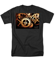 Beautiful T-Shirt featuring the photograph Cogwheel by Sandra Gallegos