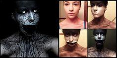 les maquillages effrayants de stephanie fernandez 3   Les maquillages effrayants de Stephanie Fernandez   Stephanie Fernandez photo maquilla...