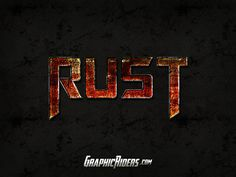 GraphicRiders | Action style – Rust (free photoshop style)