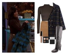 Monica Geller by chocolatemilky on Polyvore featuring polyvore fashion style WearAll Joules Whistles MAC Cosmetics Bobbi Brown Cosmetics clothing