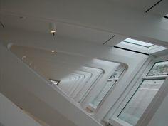 Interior photo. Milwaukee Art Museum - Calatrava addition.