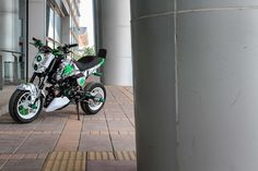 Grom Bike, Honda Grom, Custom Motorcycles, Cars And Motorcycles, Plane Engine, Pit Bike, Cool Bikes, Motorbikes, Racing