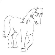 Cut Animals, Paper Animals, Quilt Patterns, Sewing Patterns, Diy And Crafts, Crafts For Kids, Horse Quilt, Horse Party, Kirigami