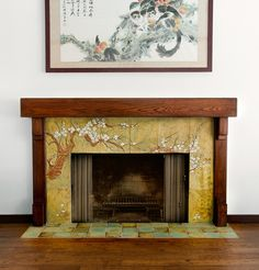 27 best pct fireplaces images craftsman tile fire places rh pinterest com