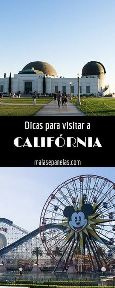 Dicas para visitar a Califórnia | Malas e Panelas