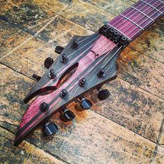Equilibrium Guitars headstock