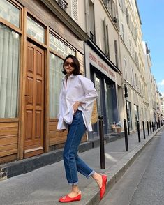 Parisian Style Fashion, Look Fashion, Korean Fashion, Fashion Outfits, Womens Fashion, Fashion Tips, Classic Outfits, Simple Outfits, Casual Outfits
