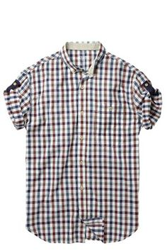 Stahl Gingham Shirt - Mens Shirts - French Connection