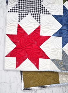 Offset Star Quilt - the Christmas One – Then Came June Beginner Quilt Patterns, Star Quilt Patterns, Quilting Tutorials, Pattern Blocks, Quilting Projects, Quilting Designs, Quilting Tips, Star Quilt Blocks, Star Quilts