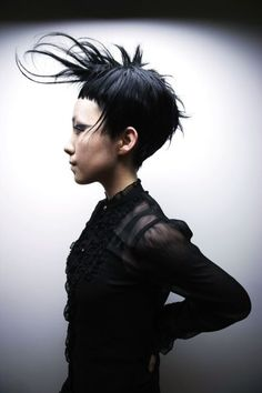short bangs #hair #bands #beauty