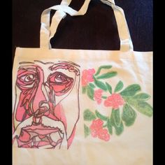 Back Stocked Aa Picasso Floral Tote!