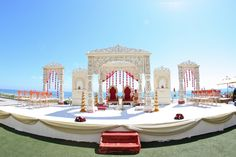 Yes please! With some purple flowers spread all over the area!!   #Sensationnel#MyDreamWedding