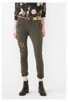 Jeans & Trousers Desigual Trousers Exotic