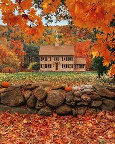 """""""Cozy cottage in the woods in Vermont New England house and home decor"""" Beautiful Homes, Beautiful Places, Wonderful Places, House Beautiful, Beautiful Beautiful, Amazing Places, New England Fall, Autumn Scenes, Autumn Cozy"""