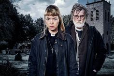 Midwinter of the SpiritThough it can be a bit campy at times, this thriller sees a country vicar and exorcist-in-training dive into the world of solving murders. You'll recognize costar David Threlfall from his work in the original Shameless and Hot Fuzz. Watch it on Acorn TV from January 11.Pictured: Anna Maxwell Martin and David Threlfall in Midwinter of the Spirit. #refinery29 http://www.refinery29.com/2013/12/59820/best-british-tv-shows#slide-42