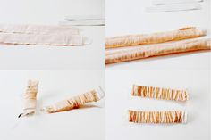 straps To make the straps, sew each rectangle into a tube. Turn and thread elastic through using a safety pin. Pin at each end and sew the elastic in place.