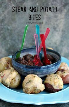 Steak Bites and Potato Bites