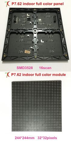P7.62 indoor full color module for led screen video wall, 16scan SMD,244mm*244m