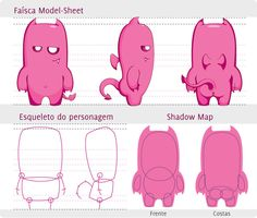 Model Sheet: Faisca by ChamaCamisetas.deviantart.com on @deviantART