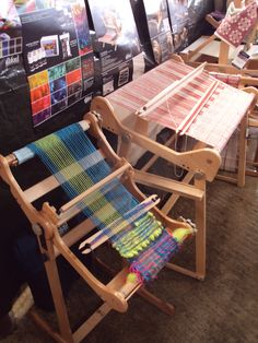 Large Weaving Looms.....the larger loom is the same as one of my looms.