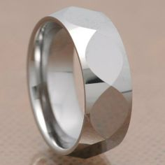 8mm Christian Fish Faceted Shiny Tungsten Carbide Band Men's Wedding Ring FlameReflection. $15.99. Includes a custom design Treasure box to hold your new piece of Jewelry!
