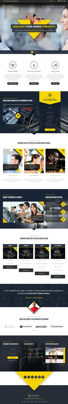 ENERGY is Premium full Responsive Retina WordPress Fitness theme. Parallax Scrolling. WooCommerce. Bootstrap 3. Drag & Drop. Test free demo at: http://www.responsivemiracle.com/cms/energy-premium-responsive-wordpress-fitness-theme/