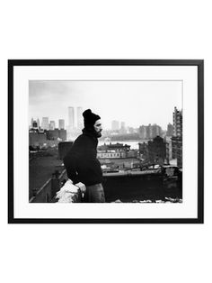 Al Pacino in New York (Framed) from Photography on Gilt