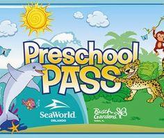 Free and Cheap: Florida's Residents: Free Preschool Pass to Sea Wo...