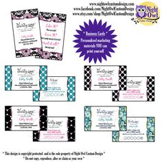 Thirty One Gifts Consultant or Director business cards - multiple purchase reward punch card on Etsy, $12.00