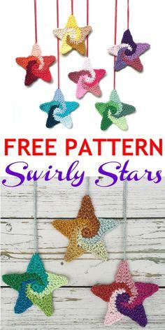 FREE PATTERN Crochet Snowflake Pattern, Crochet Stars, Christmas Crochet Patterns, Holiday Crochet, Crochet Snowflakes, Crochet Gifts, Crochet Motif, Crochet Flowers, Free Crochet