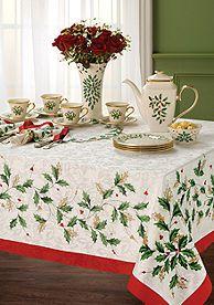 Lenox Christmas Tea