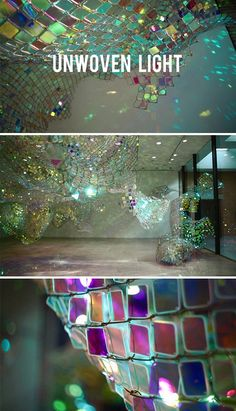 Unwoven Light - art installation *Brilliance in Concentrate*