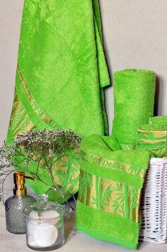 Uterák bambusový svetlozelený je hebký a príjemný pri kontakte s pokožkou. Zveľadí dizajn vašej kúpeľne. Nevytvára hrčky a saje 4-krát lepšie. Bamboo, Tableware, Dinnerware, Tablewares, Dishes, Place Settings