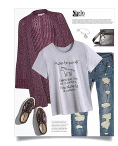 """""""Shein Tshirt"""" by tawnee-tnt ❤ liked on Polyvore featuring Hollister Co., Marc Jacobs, Great Plains, Abercrombie & Fitch and Alex and Ani"""