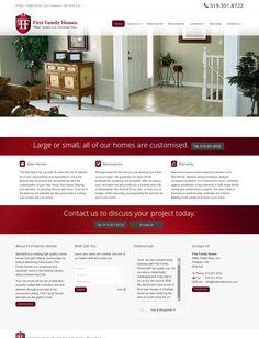 WordPress site firstfamilyhomes.com uses the The7 theme wordpress