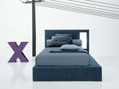 Download the catalogue and request prices of Twils trundle fabric single bed Sketch, Single Beds line