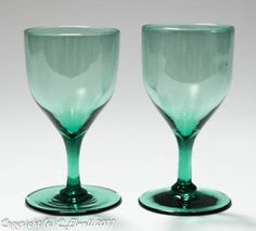 vintage rare green glass that has a glow | Pottery, Porcelain & Glass > Glass > Date-Lined Glass > Pre-1840