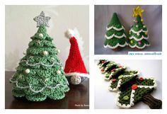 Christmas is coming. Would you have a real or plastic Christmas tree to decorate your home this year as you did almost every year? How about making a different tree by yourself? Here is the free pattern that you can crochet a Christmas tree. With some imagination, you may be able to make some changes
