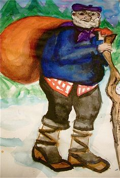 Olentzero: The Christmas Giant from Basque Country - Midwesterner Abroad