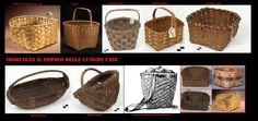 L'arte dell'intreccio  produceva articoli di un certo pregio. I cesti venivano fabbricati in modelli diversi a seconda dell'uso a cui erano destinati.