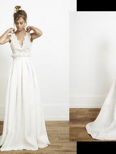 Rime Arodaky ANJA Gown Size 2 Wedding Dress – OnceWed.com