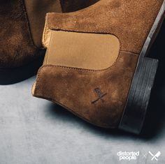 ''Sanders'' Chelsea Boot in brown