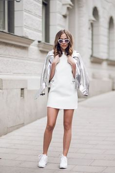metallic moto jacket