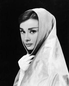 Audrey Hepburn for Funny Face, 1957