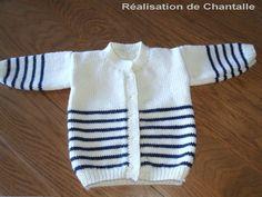 Best ideas for knitting baby pullover crochet sweaters Knit Baby Sweaters, Crochet Cardigan Pattern, Pants Pattern, Baby Knitting Patterns, Baby Patterns, Knitting Ideas, Free Knitting, Tricot Baby, Cardigan Bebe