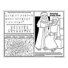 Saul And Ananias Activity Sheet