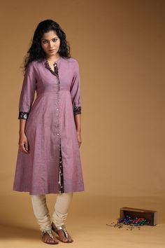 MONSOON SALE 2016 Mulberry Muslin Khadi Kurta - $33.96 USD